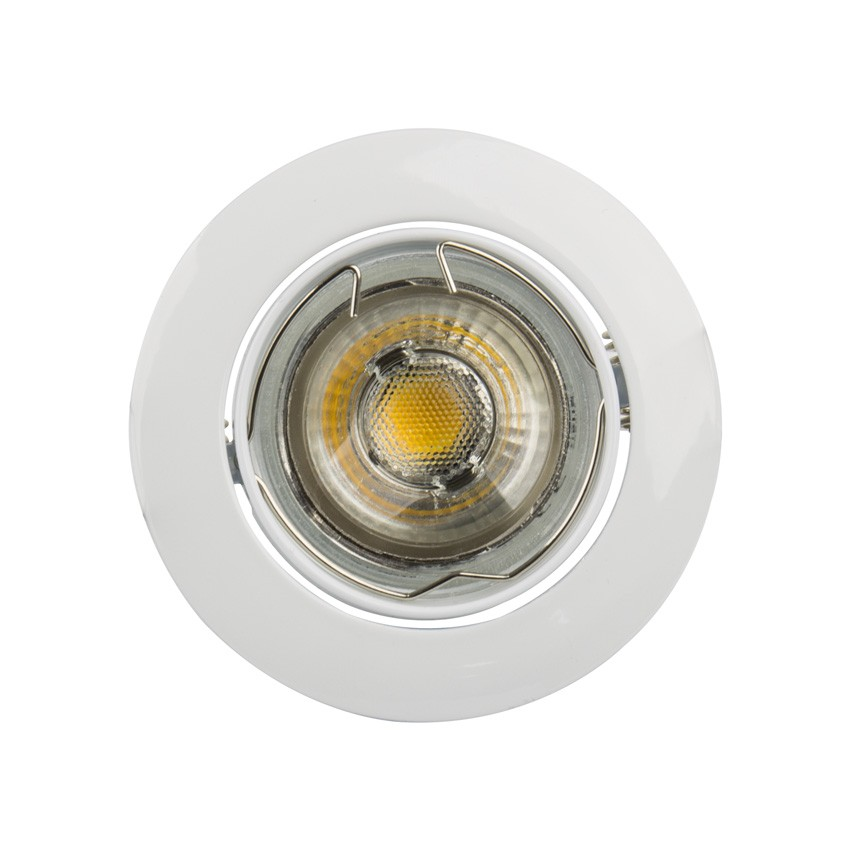 kippbarer ring downlight rund f r led lampen gu10 gu5 3 ledkia deutschland. Black Bedroom Furniture Sets. Home Design Ideas