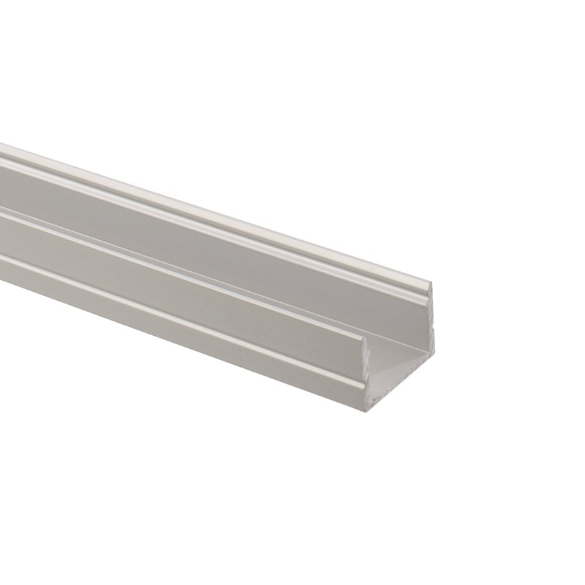 aluminiumprofil 1m f r led lichtschl uche 220v rgb ledkia deutschland. Black Bedroom Furniture Sets. Home Design Ideas