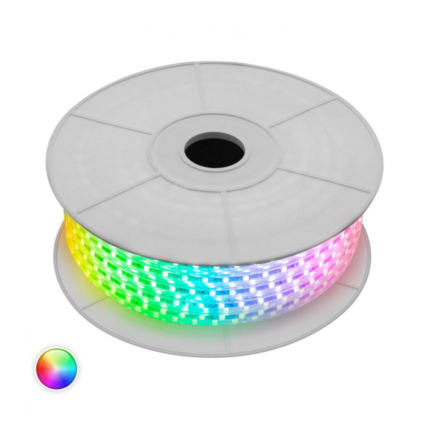 LED-Streifenrolle Dimmbar 220V AC 60 LED/m 50m RGB IP65 Schnitt jede 100cm