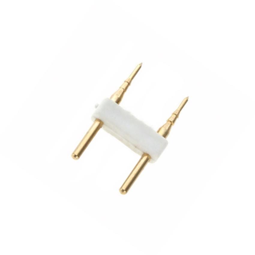 2 PIN-Stecker für LED-Lichtschläuche Einfarbig 220V SMD5050 Schnitt jede 100cm