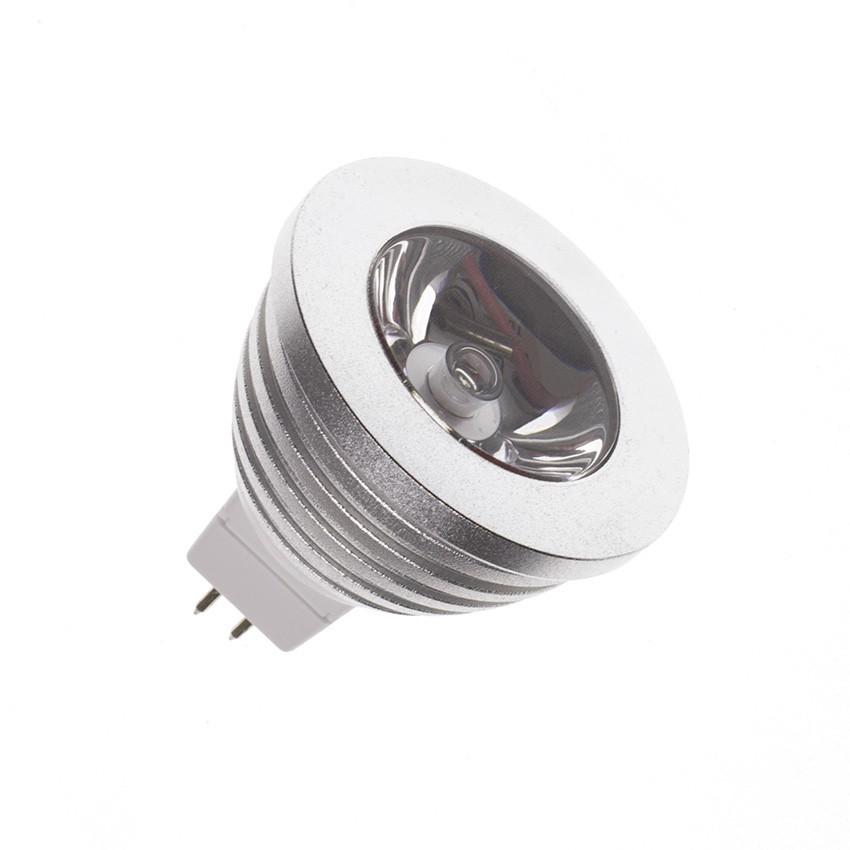 LED-Lampe GU5.3/MR16 220V AC 60º RGB 3W - Ledkia Deutschland