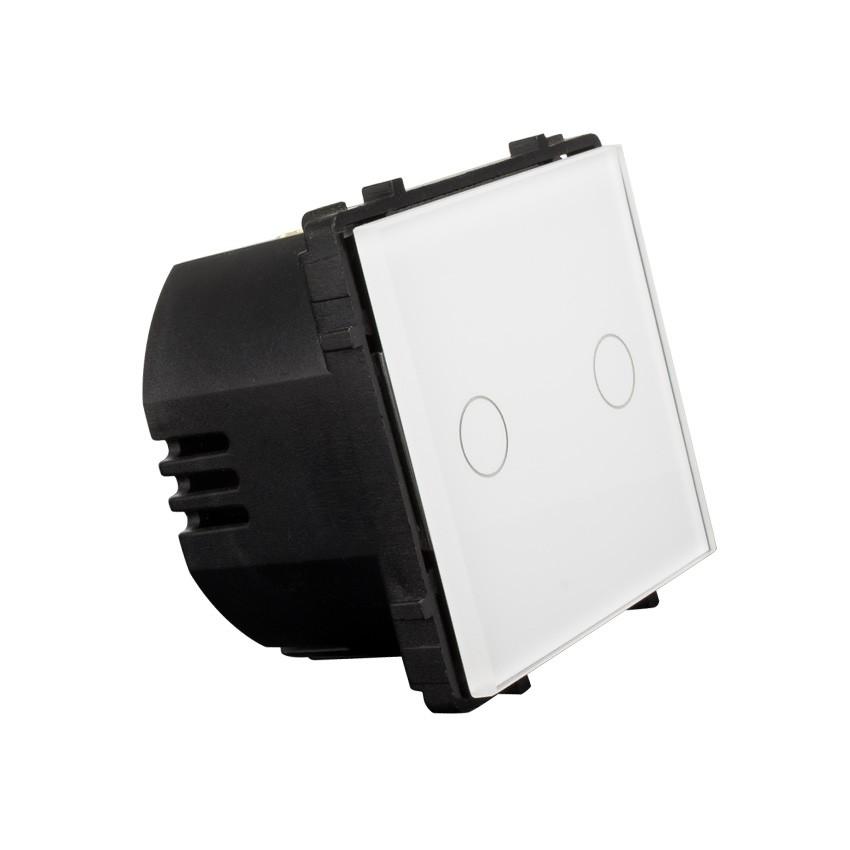 Lichtschalter Touch Doppelt - Ledkia Deutschland