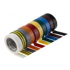 Cinta Aislante Temflex 1300 3M PVC 19mm x 20m Amarillo