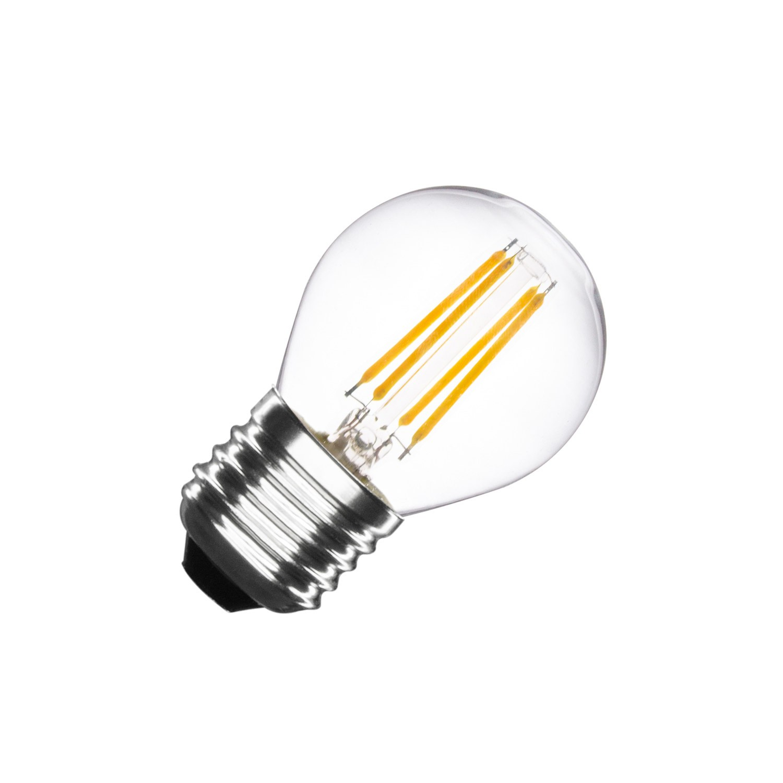 led lampe e27 dimmbar filament small classic g45 4w ledkia. Black Bedroom Furniture Sets. Home Design Ideas