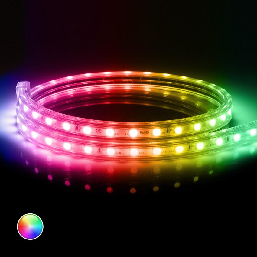 LED-Streifen 220V AC 60 LED/m RGB IP65 nach Mass Schnitt jede 100cm