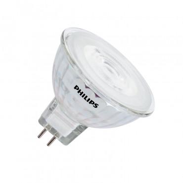 Super LED Lampe GU5.3 MR16 dimmbar Philips 12V SpotVLE 7W 36º - LEDKIA MH-56