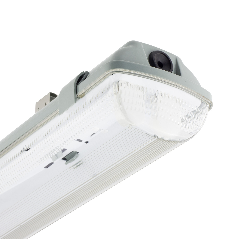 Pantalla Estanca para dos Tubo de LED 1500mm PC/PC