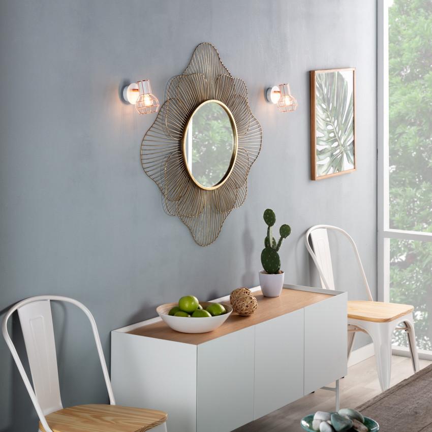 applique murale orientable lada 1 spot banc cuivr led diy. Black Bedroom Furniture Sets. Home Design Ideas