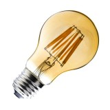 Ampoule LED E27 Dimmable Filament Classic Gold A60 6W