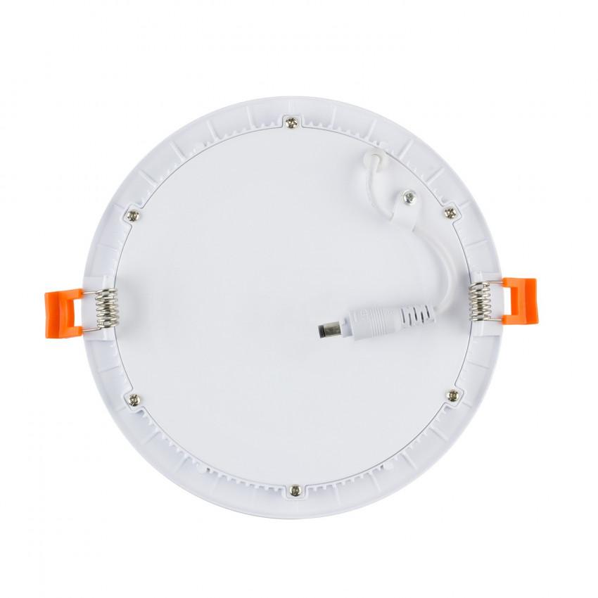 Placa LED Tª Color Seleccionable Circular SuperSlim 6W Regulable