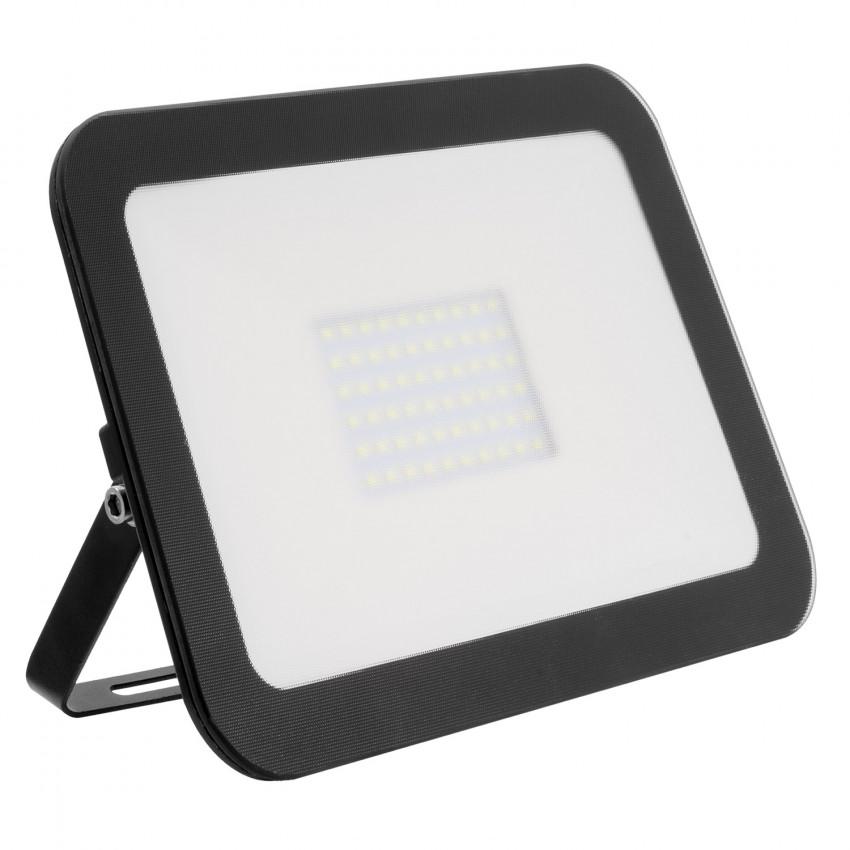Projecteur LED Slim Crystal 100W Noir