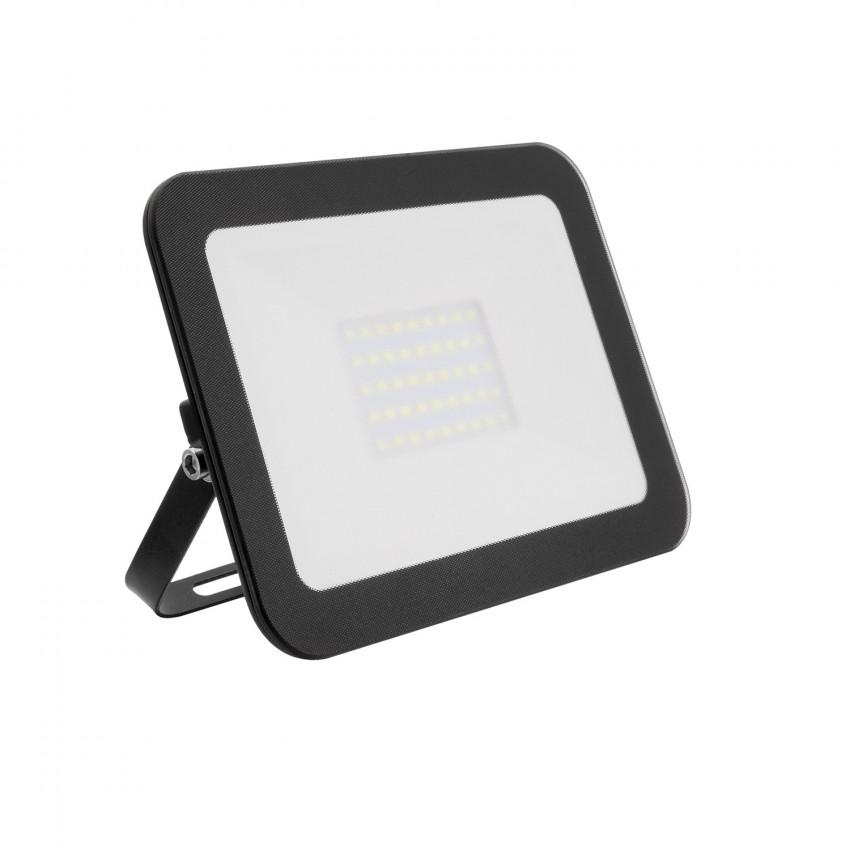 Projecteur LED Slim Crystal 30W Noir