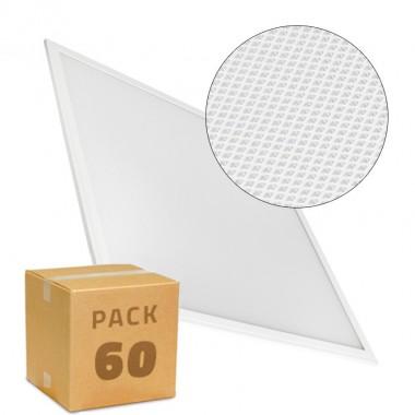 PACK Panneaux LED Slim 60x60 40W 4000lm Cadre Blanc (UGR17) (60x20.12€)