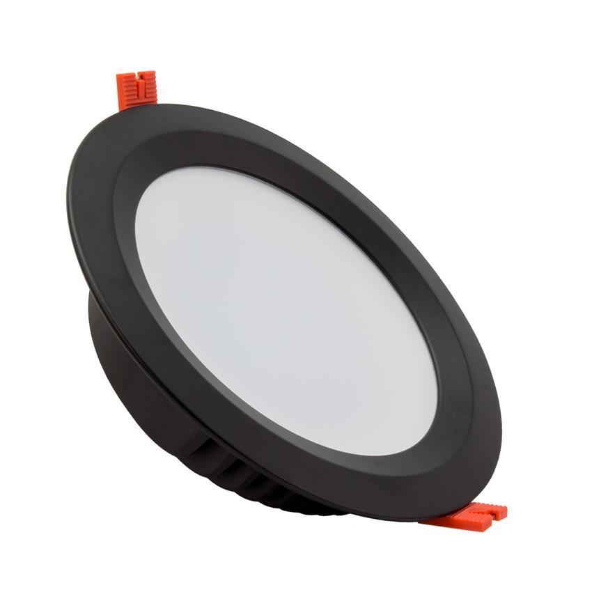 Downlight LED Samsung 120lm/W Aéro 48W Noir
