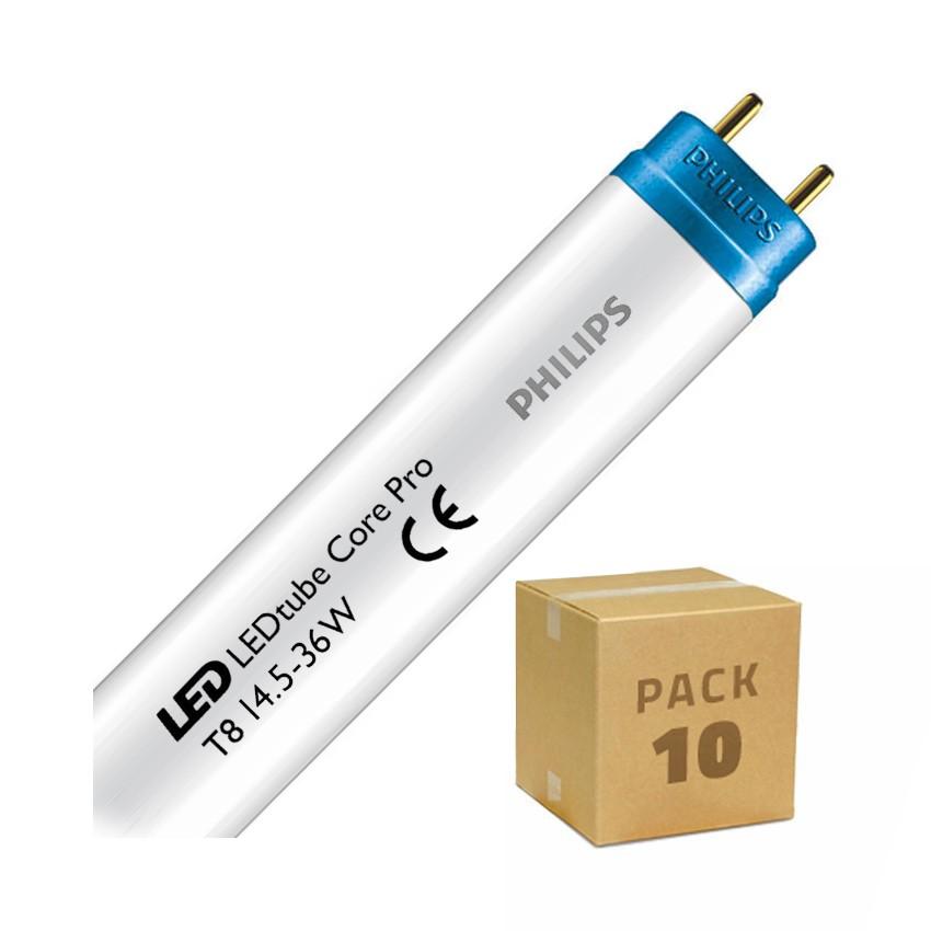 Pack Tubes LED PHILIPS CorePro T8 1200mm Connexion Latérale 14.5W 110lm/W (10 Un)