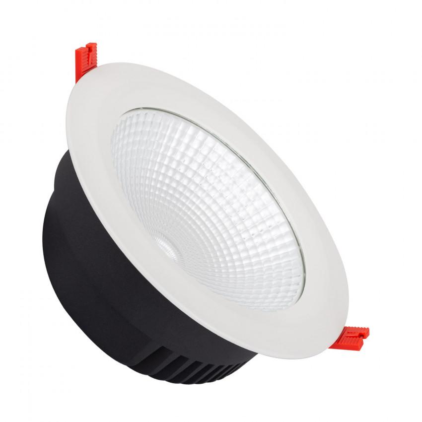 Spot Downlight LED SAMSUNG COB Rond 42W LIFUD Blanc Coupe Ø210-235mm