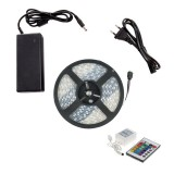 Kit Ruban LED 48W 60LED/m 5m IP67 RGB avec Télécommande, Contrôleur et Bloc d'Alimentation