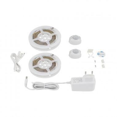 Kit 2 Rubans LED avec Détecteur de Mouvement PIR pour lit adulte