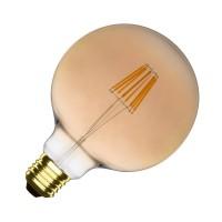 Ampoule LED E27 Dimmable Filament Suprême Gold G125 6W