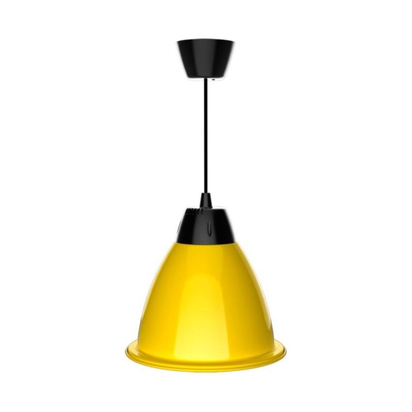 Cloche LED Jaune Alabama 35W