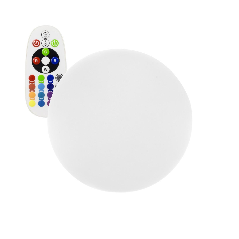 Esfera LED RGBW 20cm Recargable