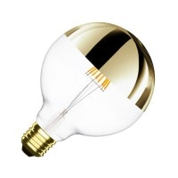 Ampoule LED E27 Dimmable Filament Reflect Suprême Gold G125 6W