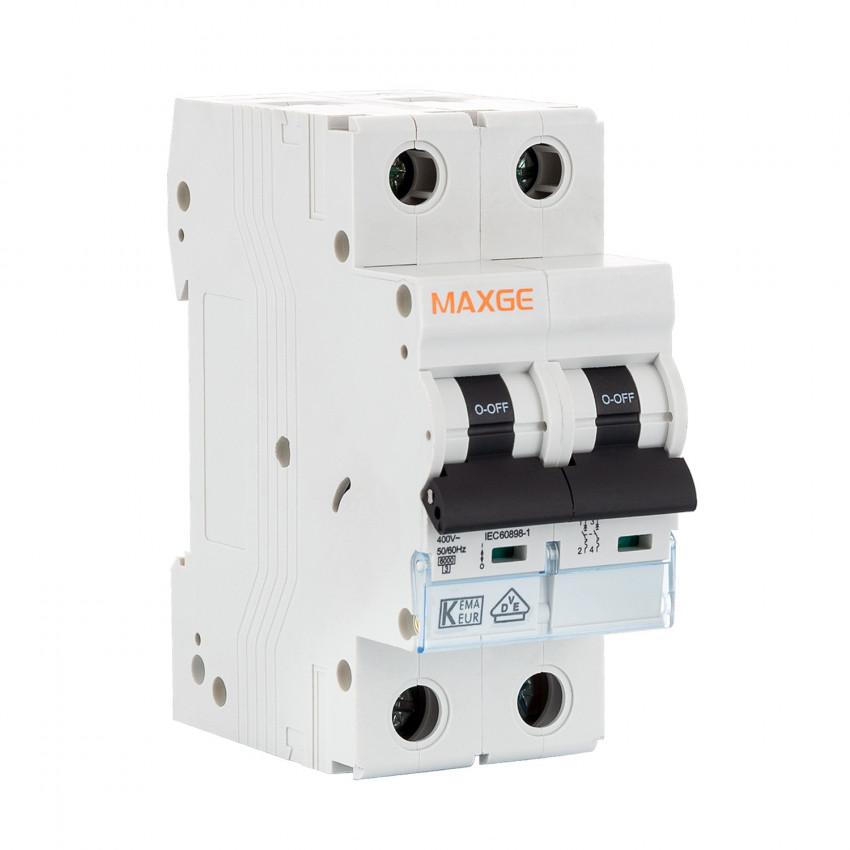 Disjoncteur Automatique Résidentiel MAXGE 2P-6kA 6-63A