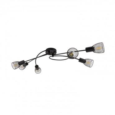 Grid Plafond Lampe Spots De Design Noir 6 QdCxroeEWB