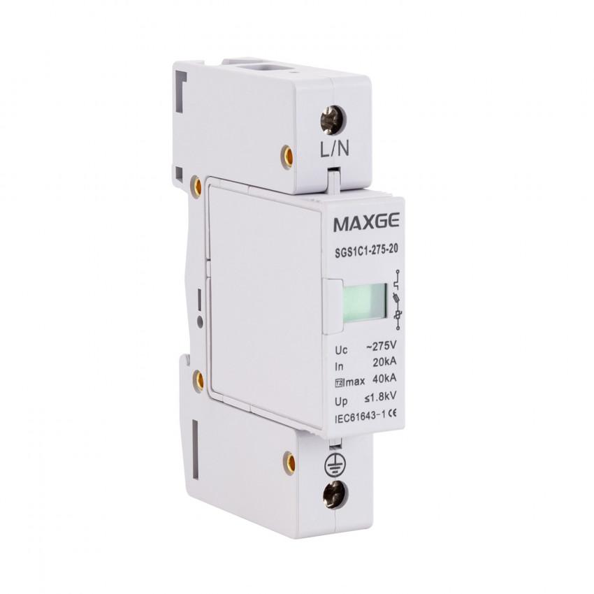 Parafoudre MAXGE 1P-Clase II-40kA-20kA-1,8kV