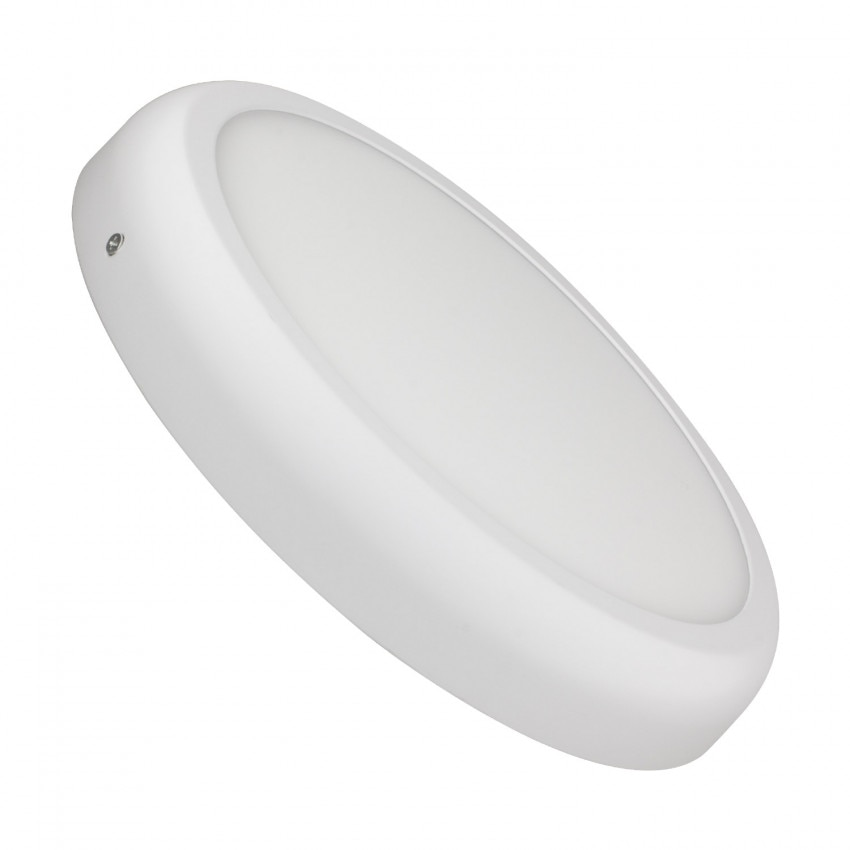 Plafonnier LED Rond Design 24W White