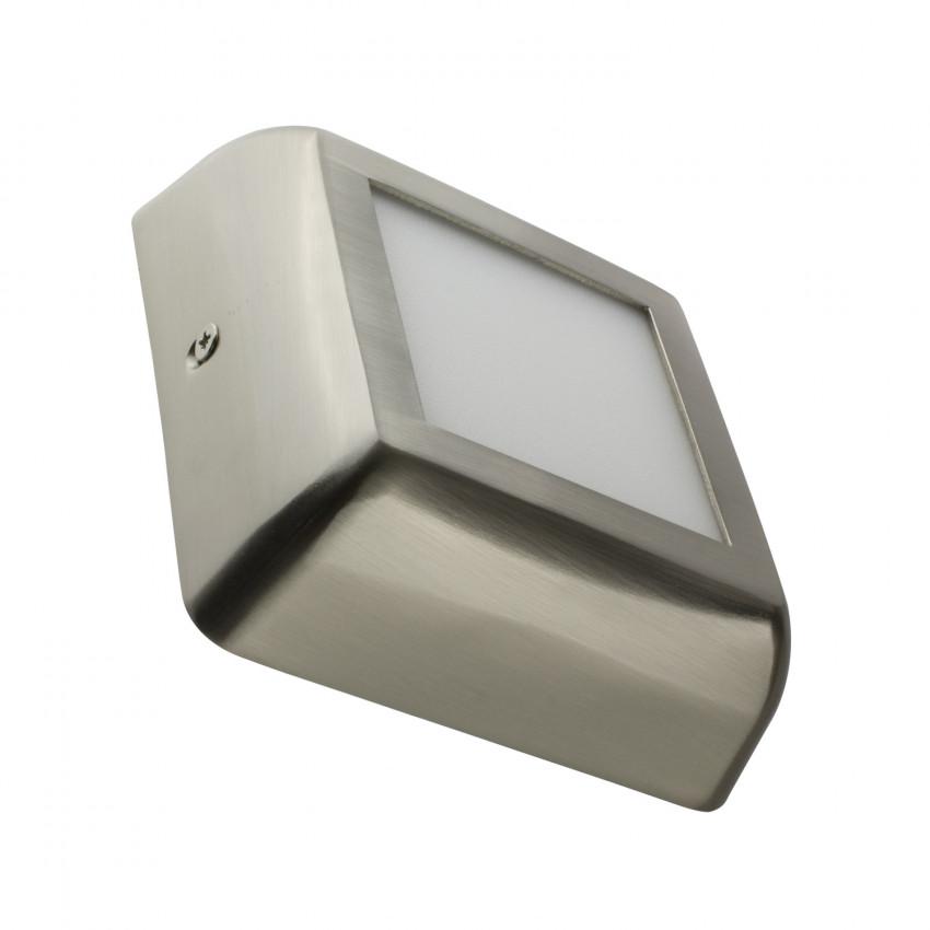 Plafonnier LED Carré Design 6W Silver