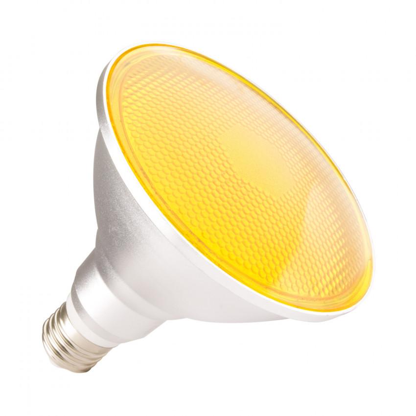 Ampoule LED E27 PAR38 15W Waterproof IP65 Lumière Jaune