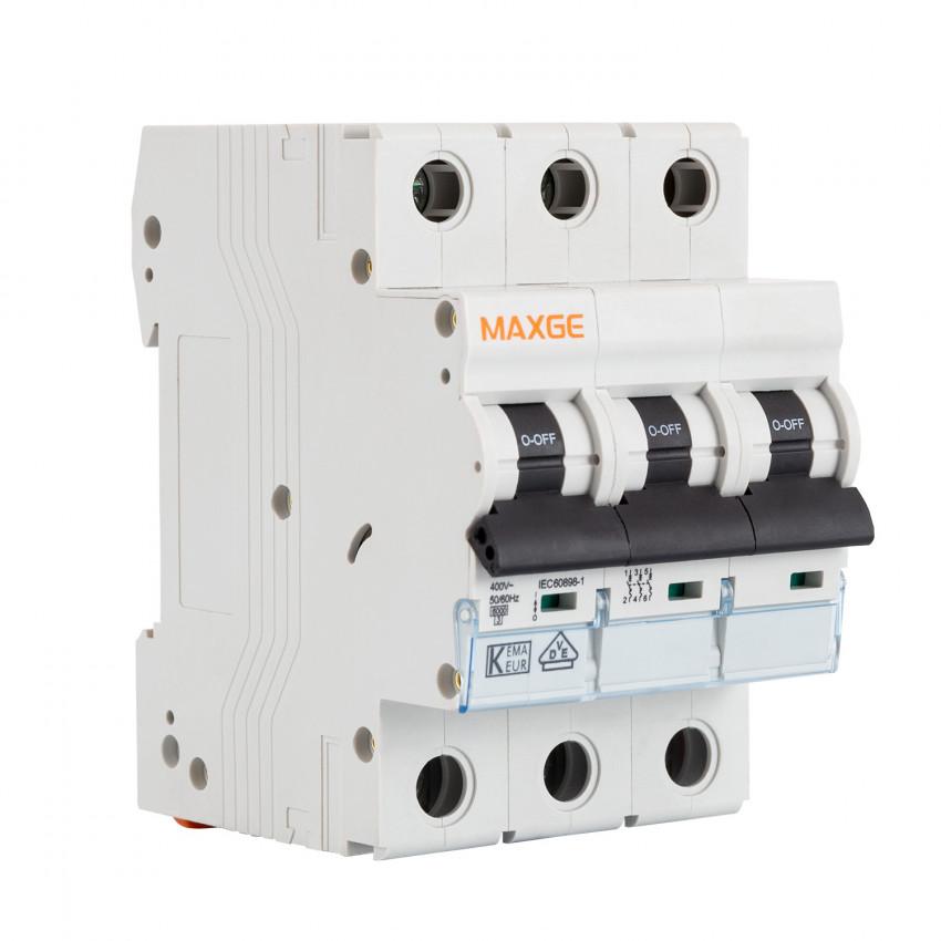 Disjoncteur Automatique Résidentiel MAXGE 3P-6kA 10-63A