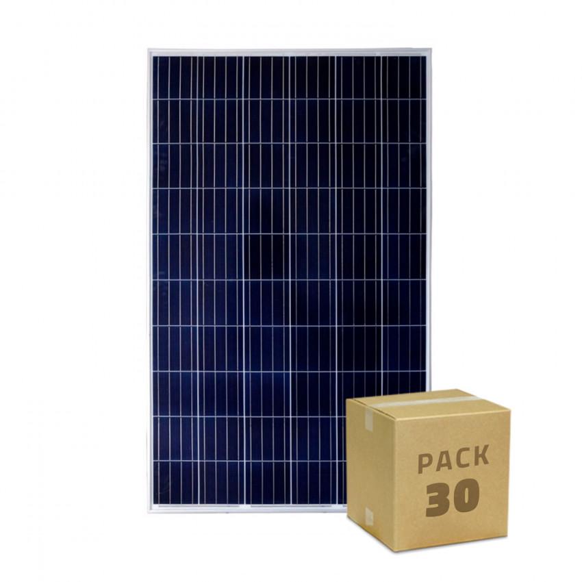Pack Panneau Solaire Photovoltaïque Polycristallin 320W BYD Classe A (30 un)
