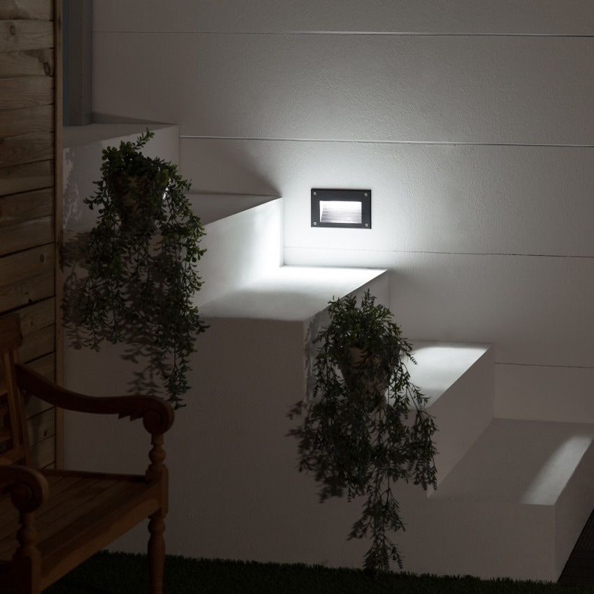 Balise LED Mystic Finition Noire 3W IP65