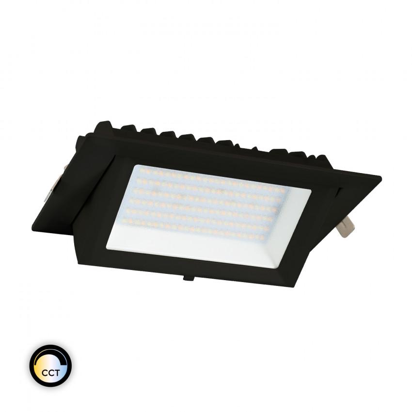 Projecteur LED SAMSUNG 130lm/W Orientable Rectangulaire 48W Noir CCT LIFUD