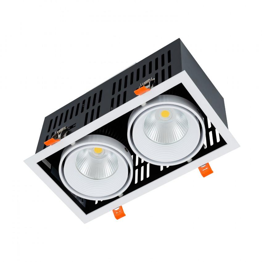 Spot Downlight LED SAMSUNG GRILL Orientable COB 60W LIFUD Coupe 270x140mm