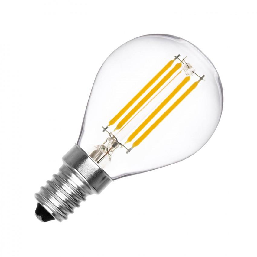 Ampoule LED E14 Filament G45 4W