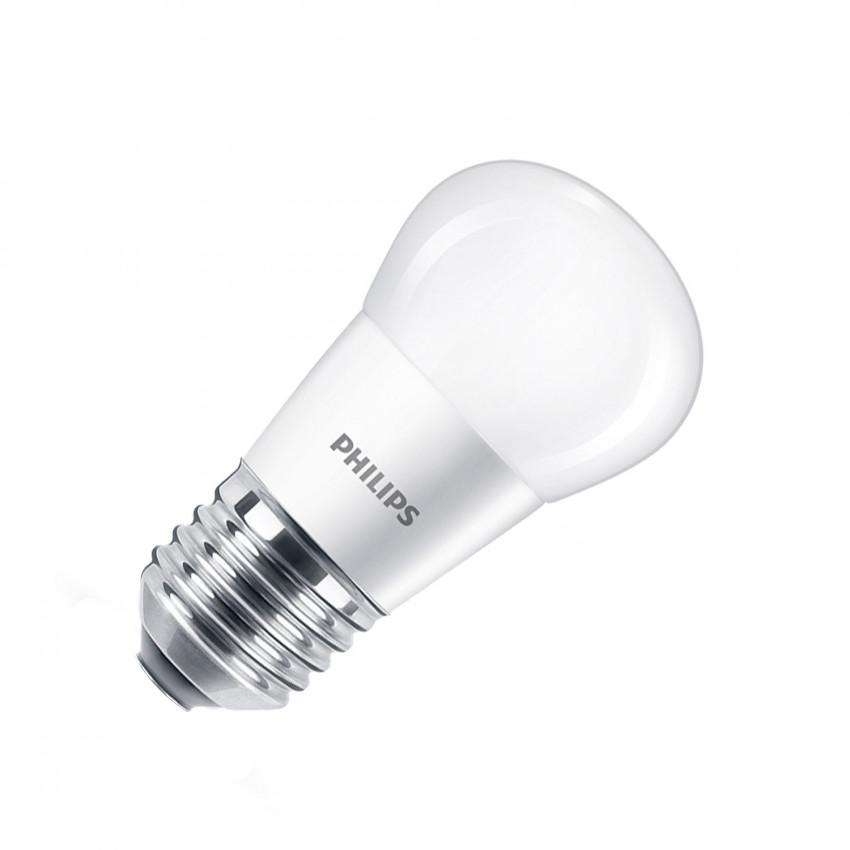 Blister Ampoule LED E27 P45 PHILIPS 5.5W (3 Un)