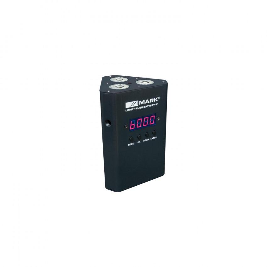 Projecteur LED Equipson LIGHT TRUSS BAT 41 RGBW DMX 12W avec Batterie 28MAR050