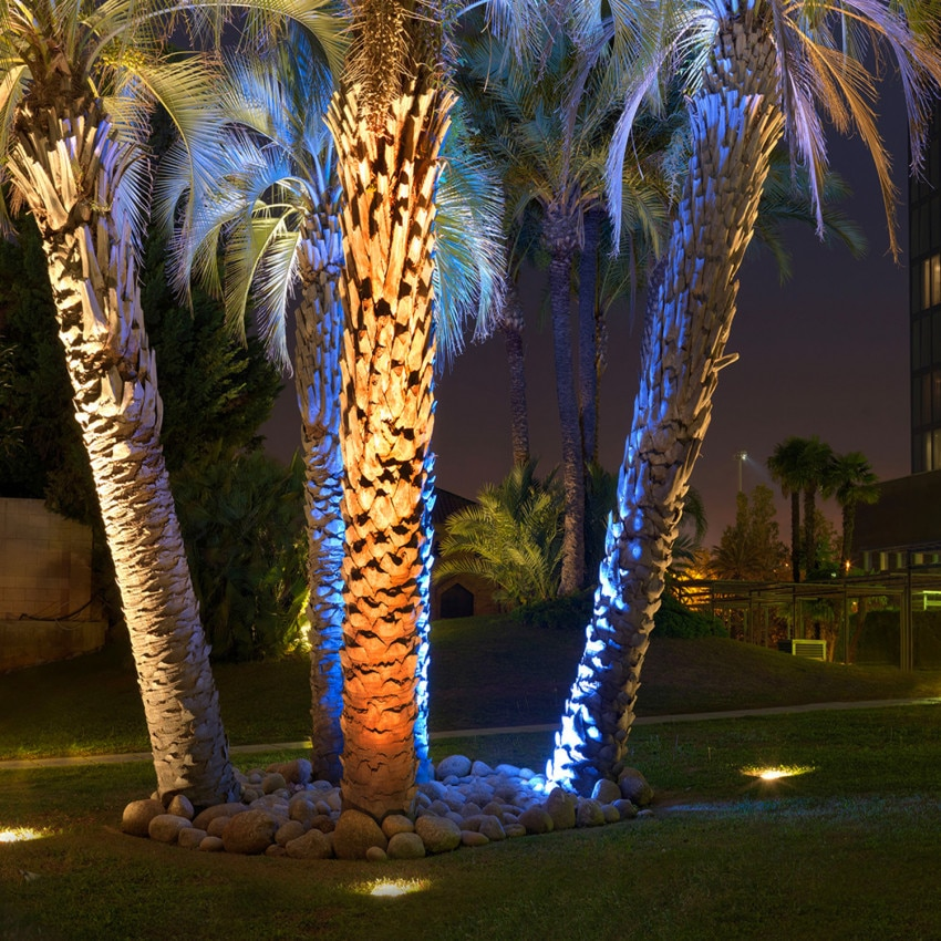 Spot LED Rond Encastrable au Sol Gea Power Led 18W IP67 LEDS-C4 55-9667-CA-CM