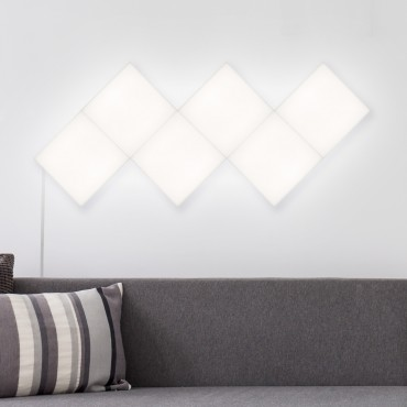 Panel LED Hexagonal 9x9cm 3.5W Base Principal