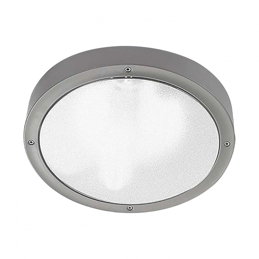 Plafonnier LED Basic Technopolymer 14.5W IP65 LEDS-C4 Small 15-9491-34-CL
