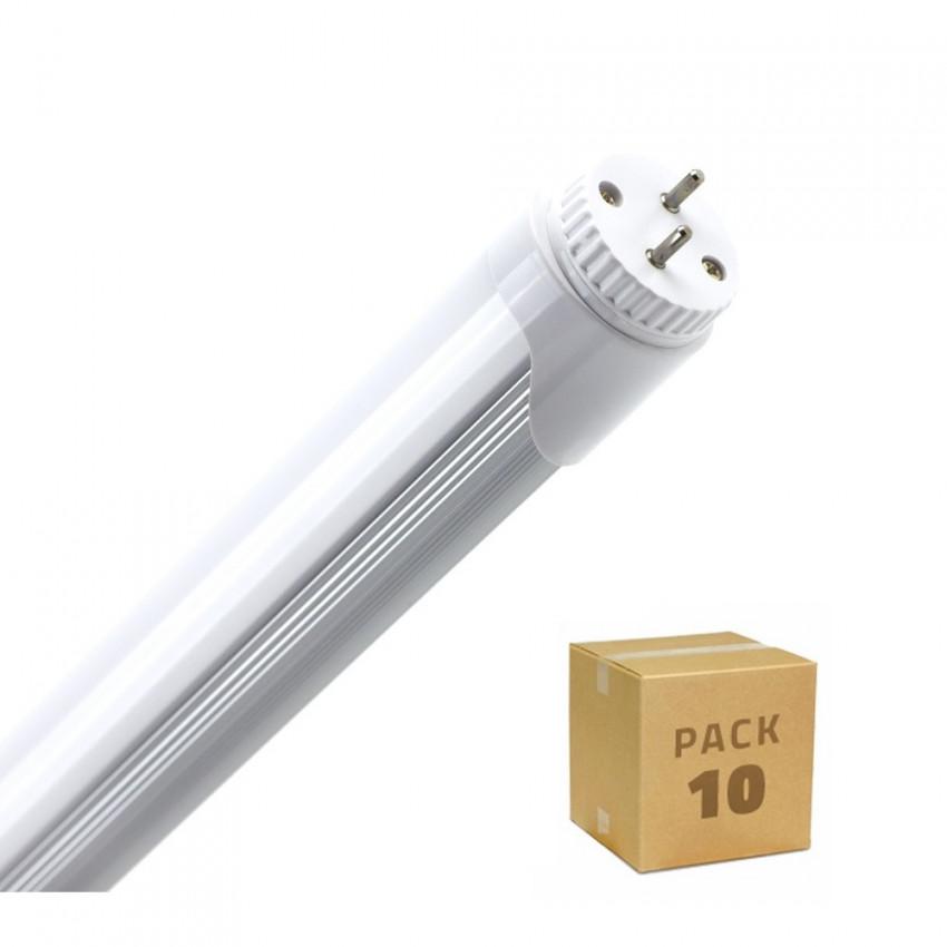 Boîte de 10 Tubes LED T8 600mm Connexion Latérale 9W 120lm/W Blanc Neutre