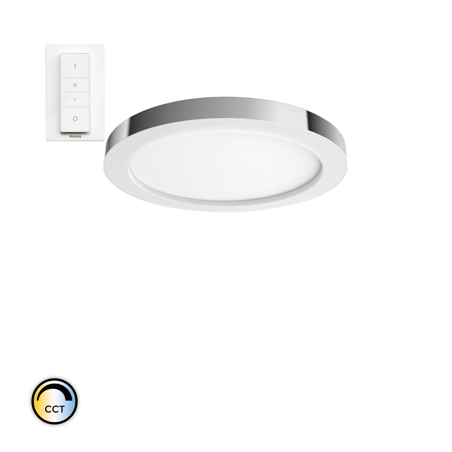 Plafón LED CCT PHILIPS Hue White Ambiance Adore 40W