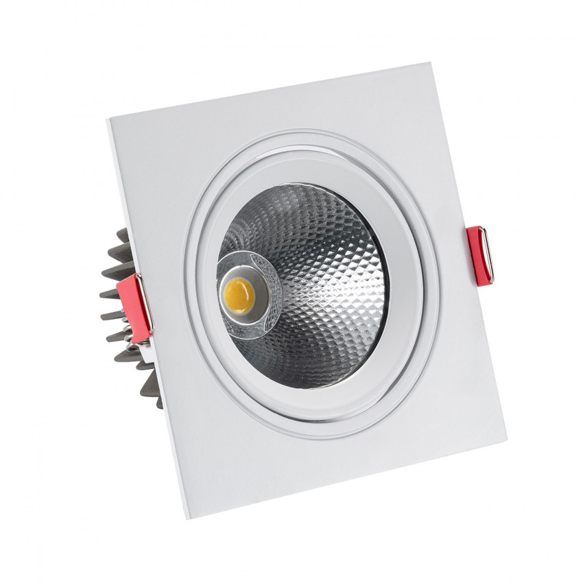 Spot LED Downlight Carré New Manhattan 10W Coupe Ø 95 mm