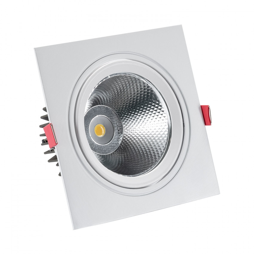 Spot LED Downlight Carré New Manhattan 15W Coupe Ø 115 mm