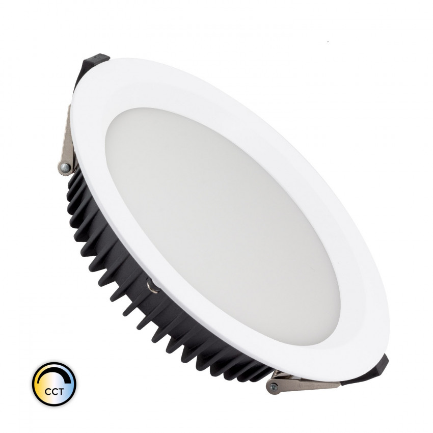 Downlight LED New Aéro Slim CCT Sélectionnable 20W (UGR19) LIFUD Coupe Ø 155 mm