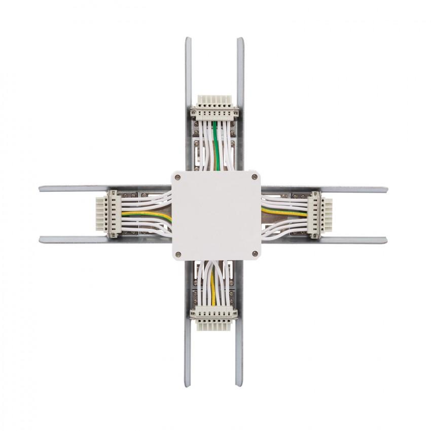 Connecteur Type X pour Barre Linéaire LED Trunking