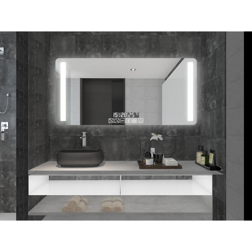 Miroir Décoratif LED Anti-buée Tactile Similan 28W